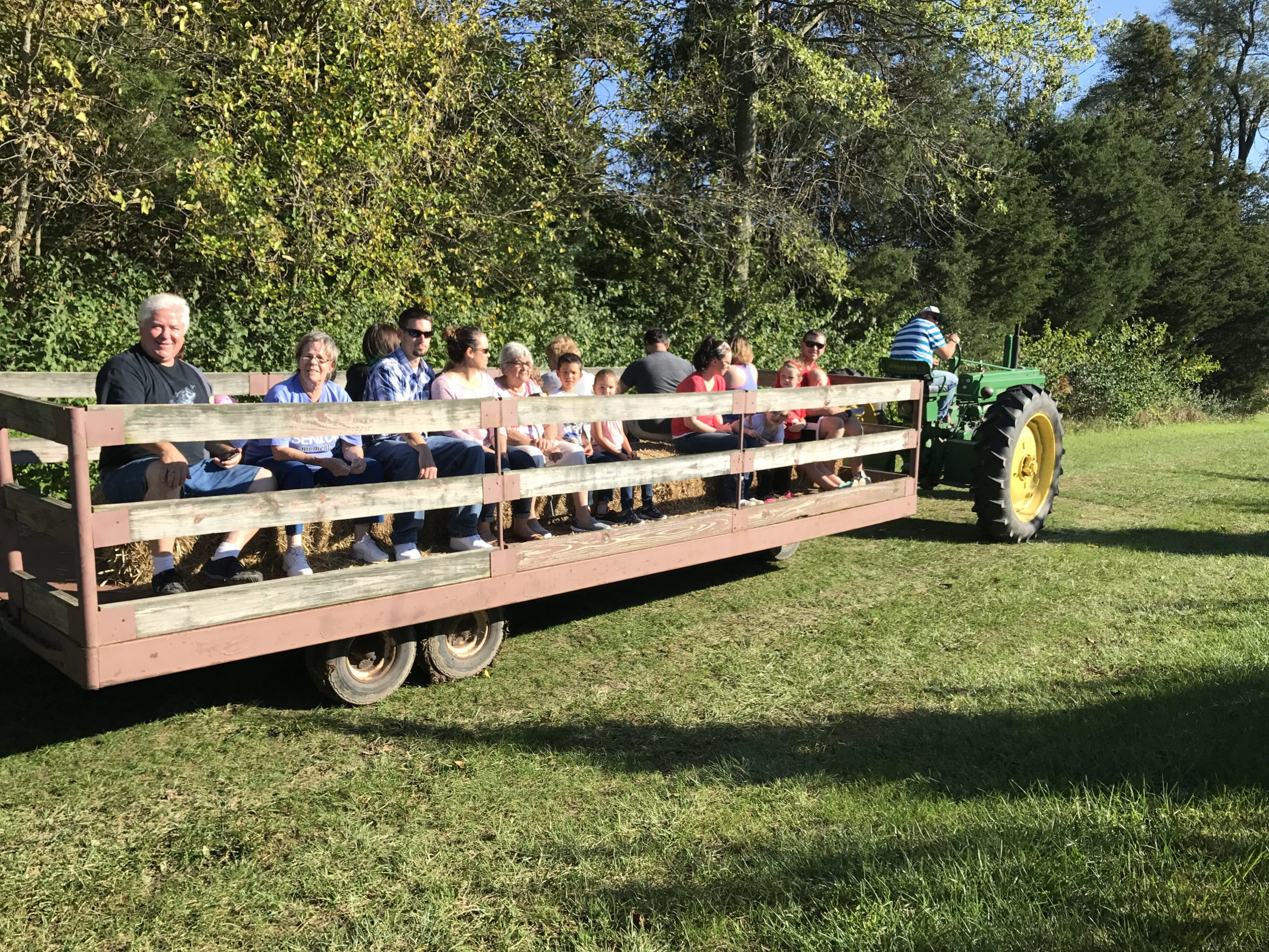 Hay Ride Majestic Nursery and Gardens